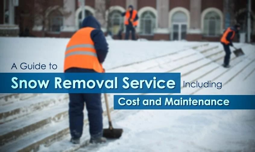 A Guide to Winnipeg Snow Removal Service Including Cost and Maintenance